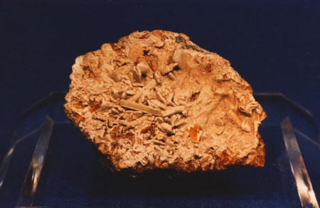 Mineral Specimens - Willemite on Datolite, Axinite, Franklin, NJ