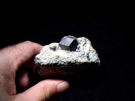 Mineral Specimens - Magnetite, Tilly Foster Mine, Brewster, NY