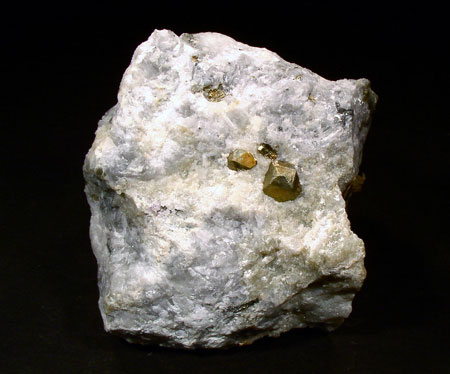 Mineral Specimens  - Pyrite, Farber Quarry, Franklin, NJ