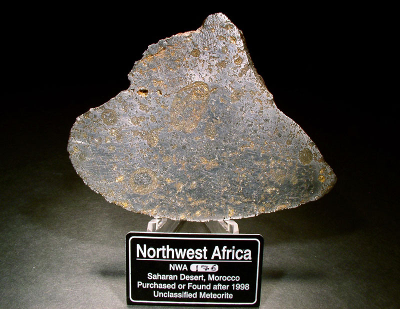 NW Africa unclassified meteorite, Morocco
